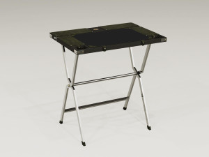 Newland, Tarlton & Co. Safari Writing Desk - Black Croc