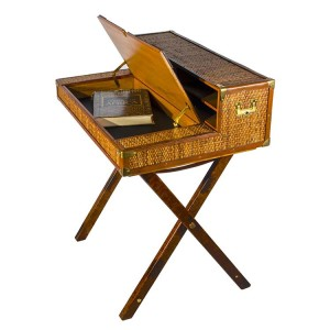 Safari Writing Desk Open
