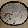 safari wine table top closeup