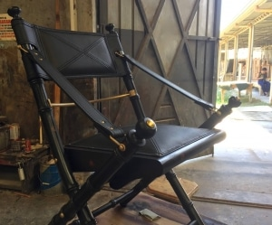 safari folding chair